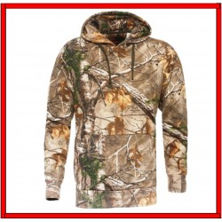 Sudadera Con Capucha  Color Camo RealTree Marca Game Winner con Tallas M,G Y 2XL.